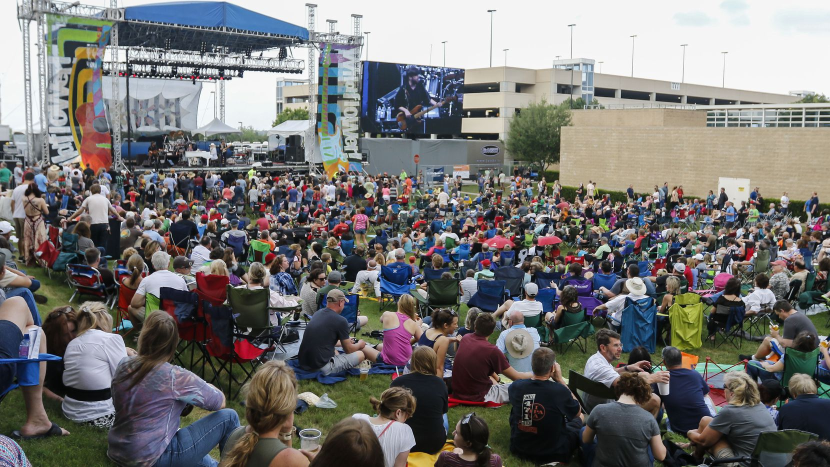 The Wildflower! Arts & Music Festival in Richardson is pictured in this file photo. For the second year in a row, the event will forgo in-person concerts.
