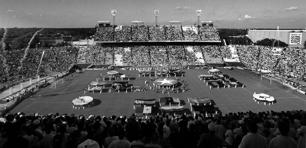 World Cup opening ceremonies in June 1994, when soccer came to the Cotton Bowl.