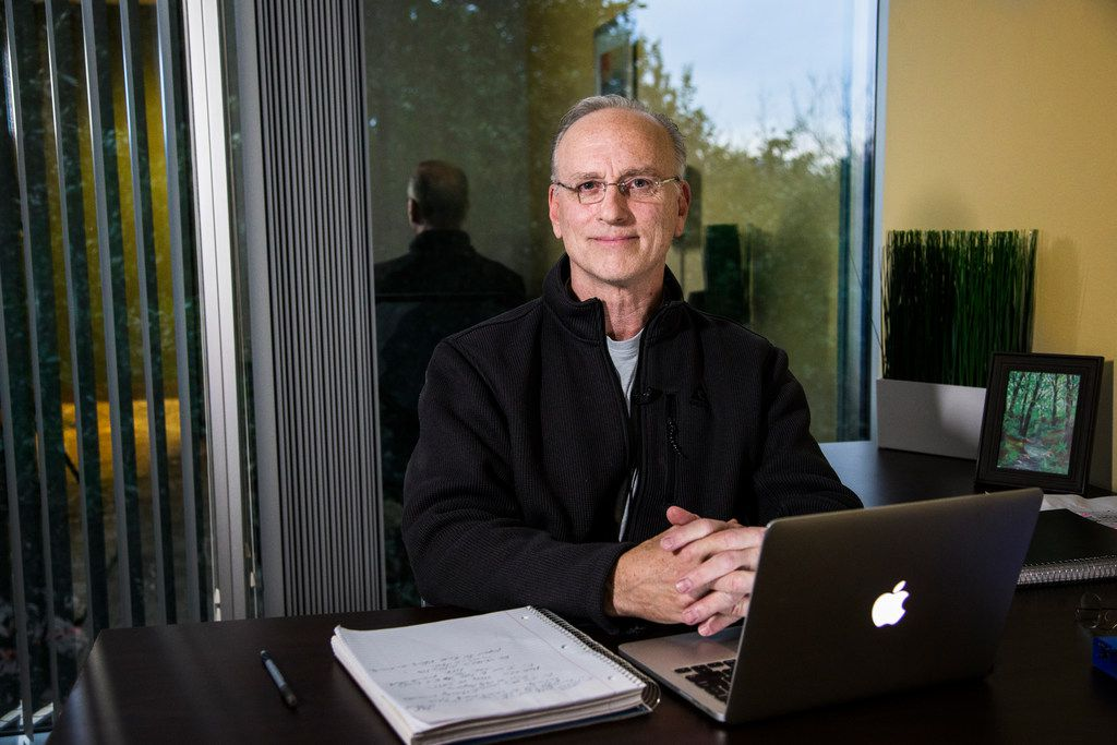 David Pickup, a licensed marriage and family therapist, poses for a photograph at his office in Addison, Texas on Dec. 14, 2018.Pickup is the only licensed therapist in Texas who practices reintegrative therapy, better known as conversion therapy, which aims to lessen or rid someone of their attraction to members of the same sex. On Wednesday, May 1, 2019, lawmakers will debate a bill to ban conversion therapy for minors.