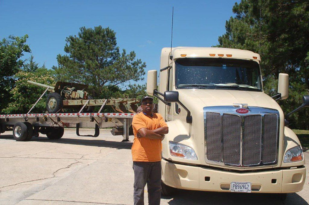 Allen Rush, who drives for Daseke's Hornady Transportation in Monroeville, Ala., is among the new Daseke trucker shareholders thanks to the Addison company's stock giveaway.