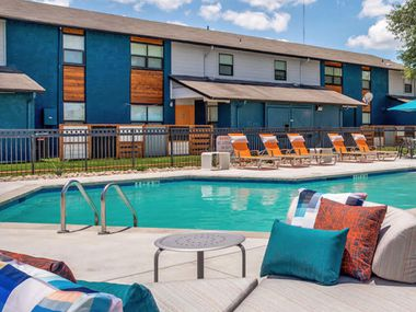 The purchase included apartments in Cedar Hill, Mesquite and Arlington.