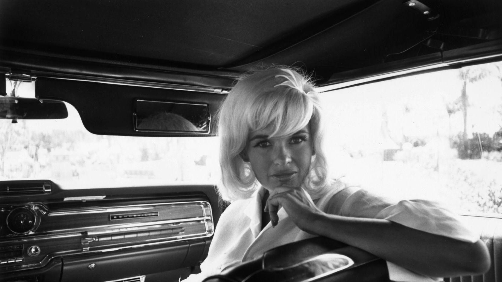 Blonde bombshell Jayne Mansfield (Vera Jane Palmer) (1933 - 1967).