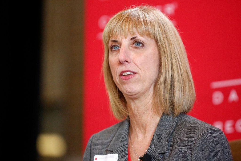 Plano ISD superintendent Sara Bonser. (Tom Fox/The Dallas Morning News)