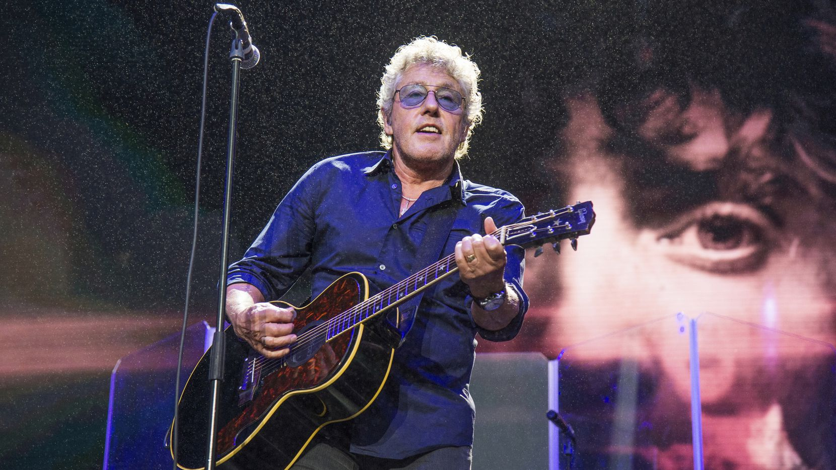 In this Aug. 13, 2017 file photo, Roger Daltrey of The Who performs at the 2017 Outside Lands Music Festival at Golden Gate Park in San Francisco.