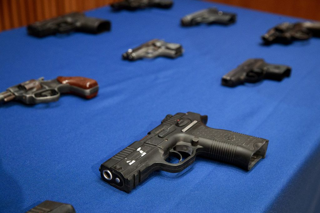 Gun violence claims about 35,000 lives in the United States each year.