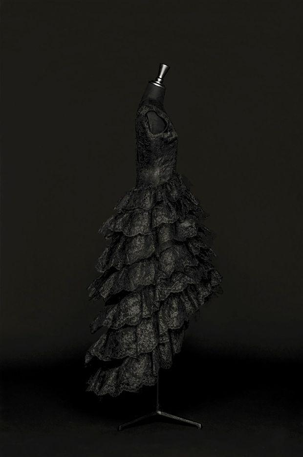 Balenciaga evening gown circa 1960