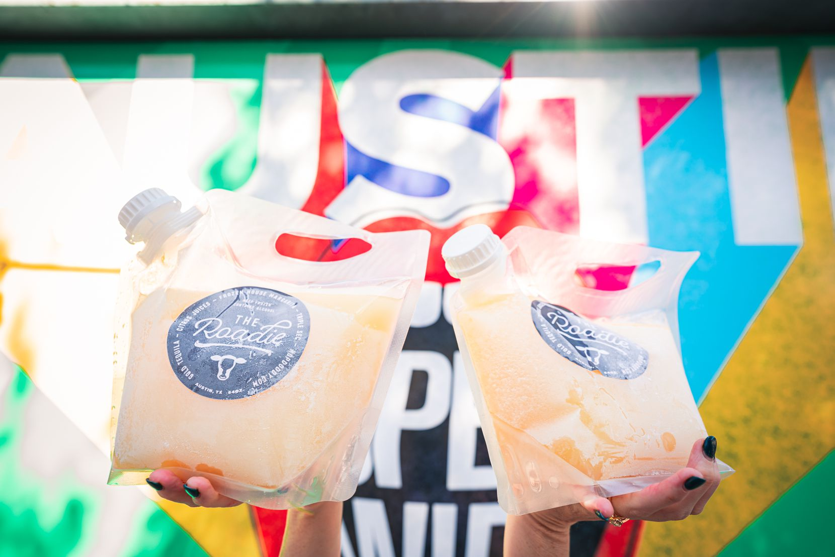 For National Tequila Day, try Hopdoddy's Roadie, a half-gallon bag of frozen house margarita that can be shared.