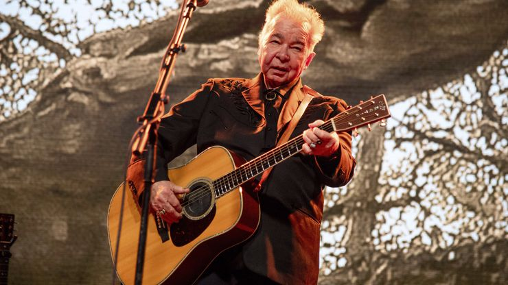 John Prine performs at the Bonnaroo Music and Arts Festival on Saturday, June 15, 2019, in Manchester, Tenn. (Photo by Amy Harris/Invision/AP)