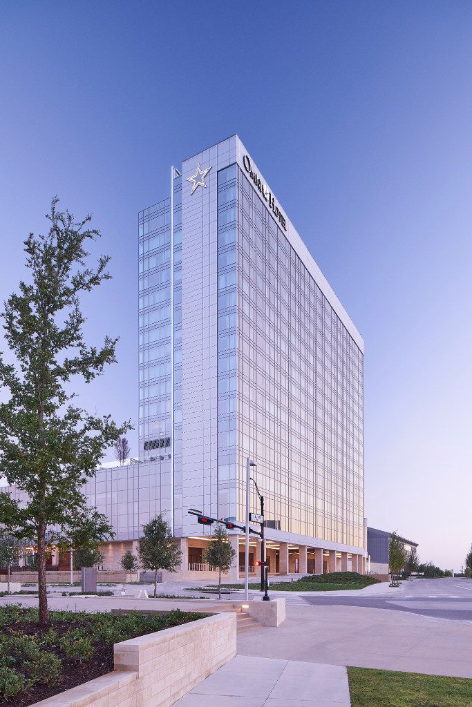 Omni Hotels & Resorts has opened its Omni Frisco Hotel at The Star. It has 300 guest rooms and a rooftop pool