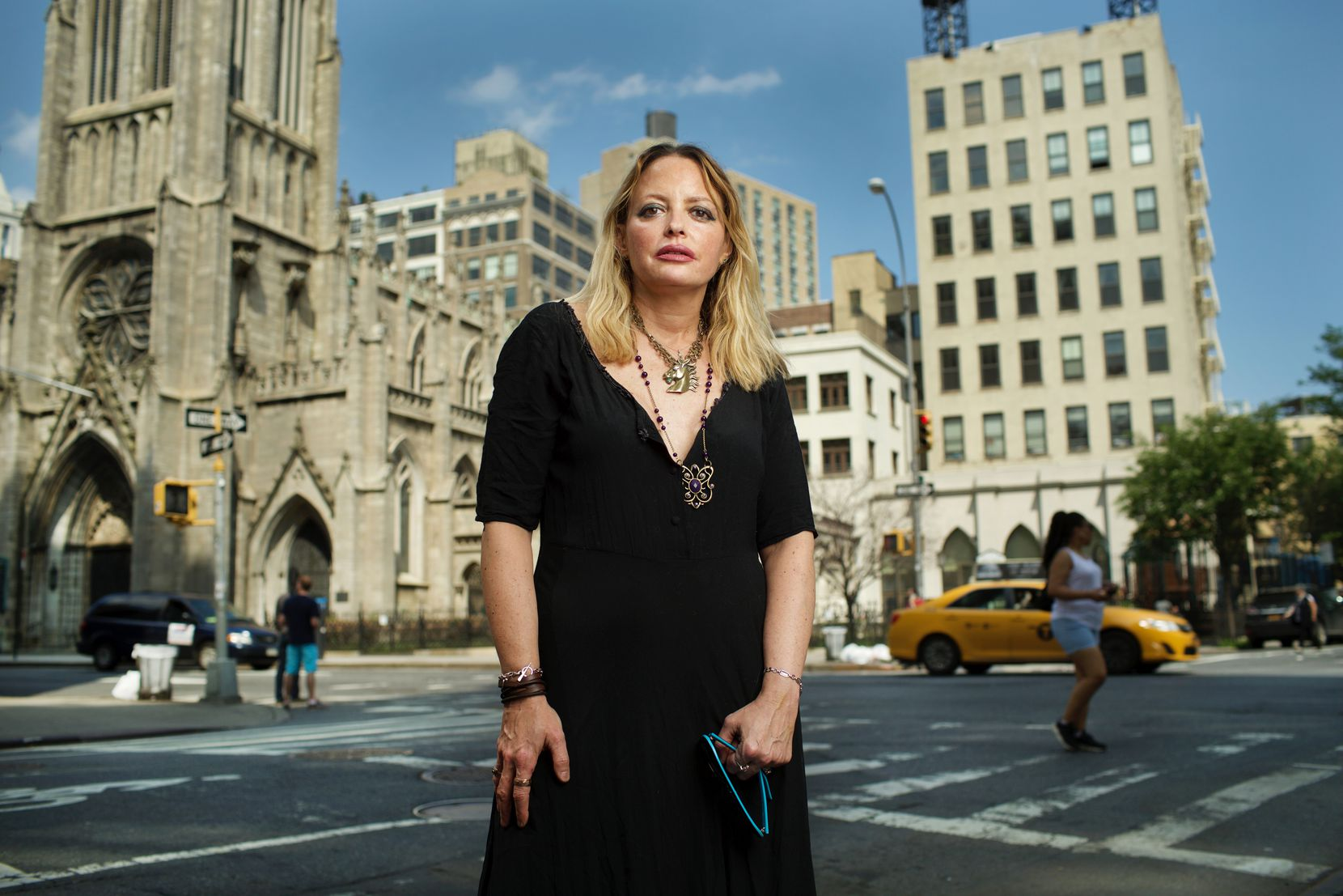 Elizabeth Lee Wurtzel, known for publishing her best-selling memoir 'Prozac Nation' at the age of 26, is shown in 2015. She holds a BA from Harvard College and a JD from Yale Law School.