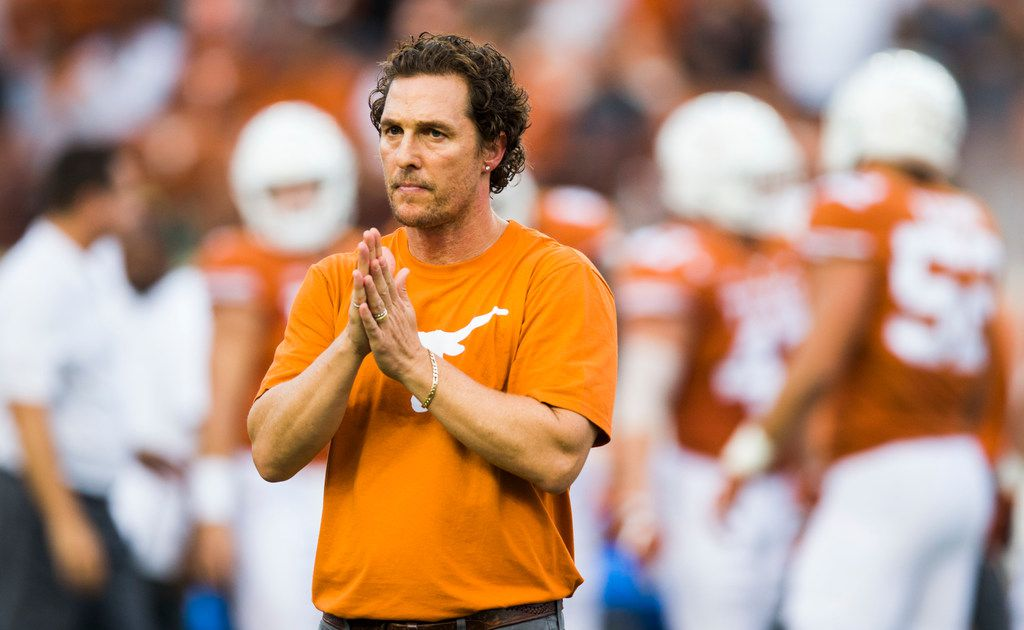 Texas alum Matthew McConaughey: I say don't change 'The Eyes of Texas', just change the way the eyes see