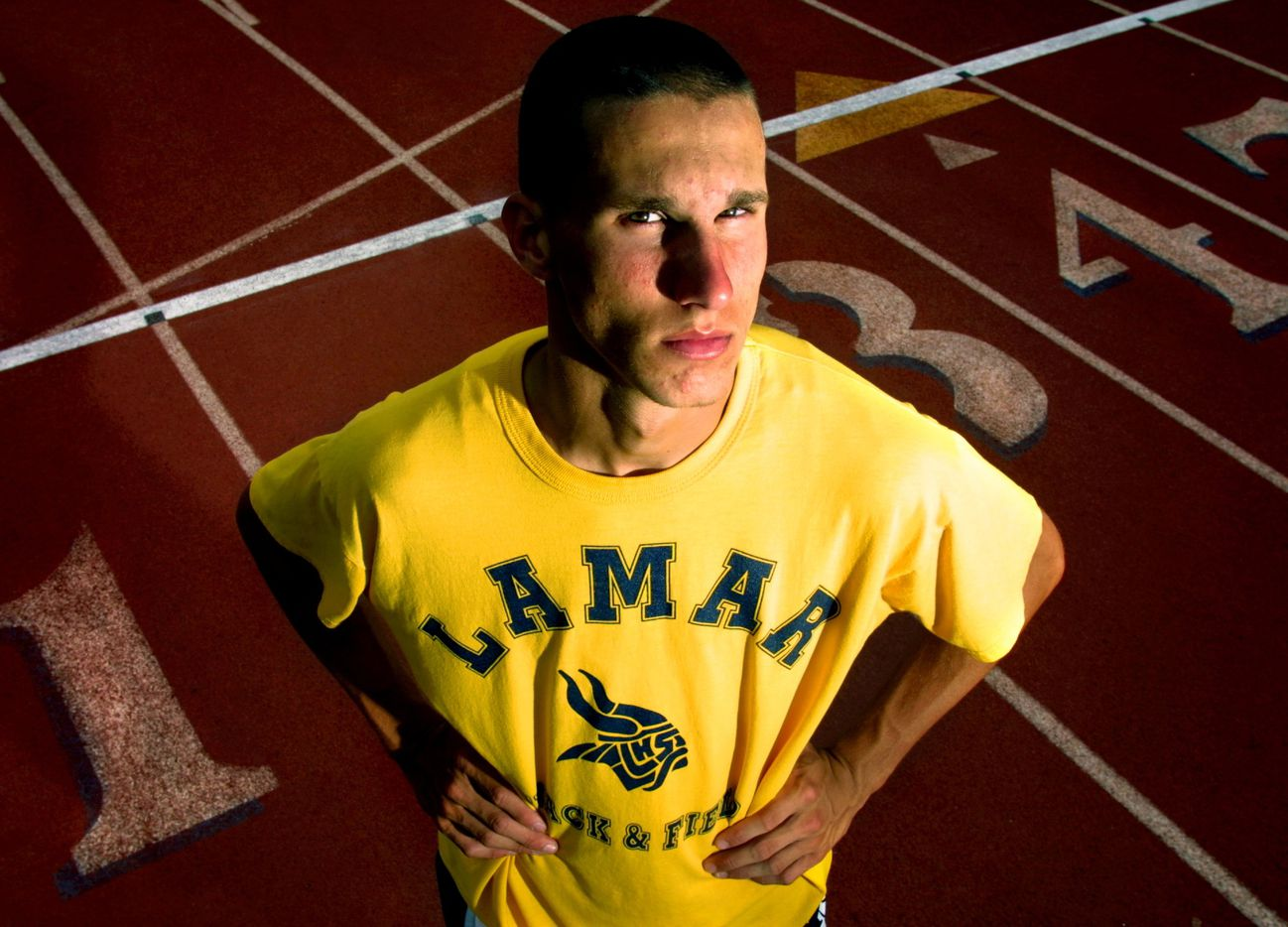 From 2003: Lamar junior Jeremy Wariner is headed to the state track and field meet later this month to compete in the boys 200 meter and 400 meter sprints.