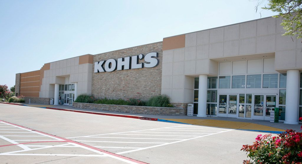 Exterior view of the Kohl's department store on Skillman in Dallas on Friday, June 28, 2019.