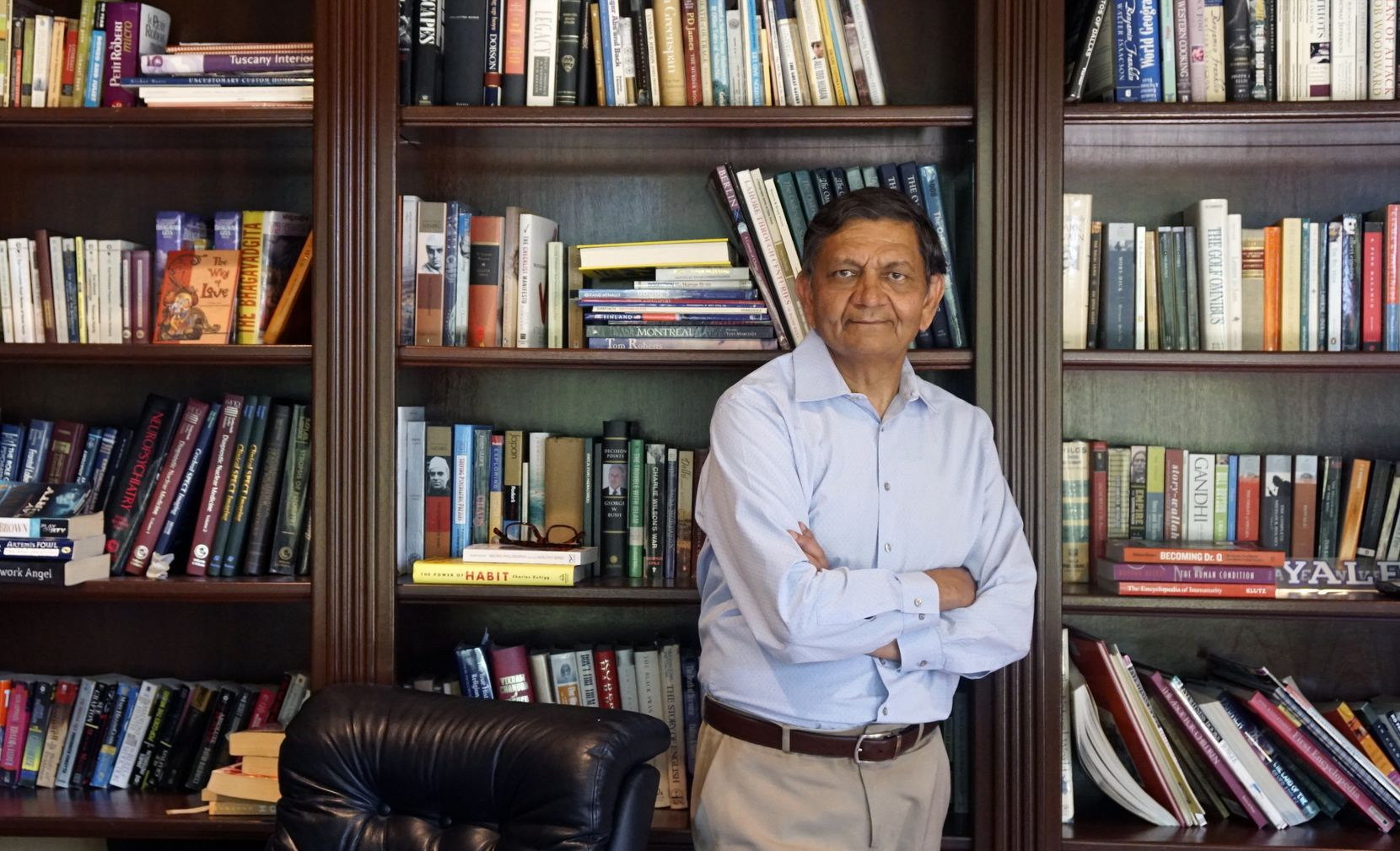 """Dr. Madhukar Trivedi, director of the Center for Depression Research and Clinical Care at UT Southwestern Medical Center. """"There aren't enough beds, there aren't enough intensive outpatient programs,"""" he said. """"We'll never have enough psych doctors. We'll never catch up."""""""