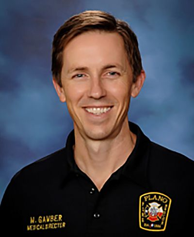 Plano Fire-Rescue medical director Dr. Mark Gamber