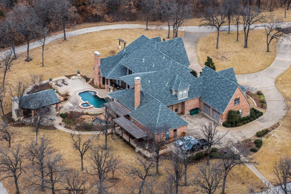The home of former Exxon Mobil CEO Rex Tillerson on Wednesday, January 4, 2017 in Bartonville, Texas.