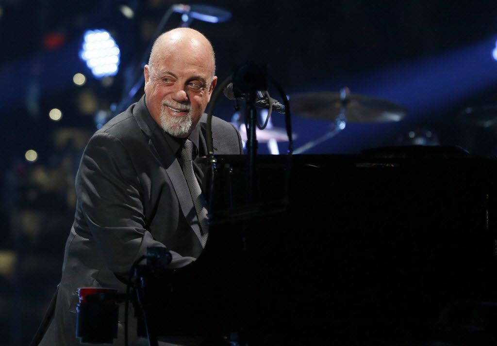Billy Joel performs at PNC Arena in Raleigh, N.C., on Sunday, Feb. 9, 2014.