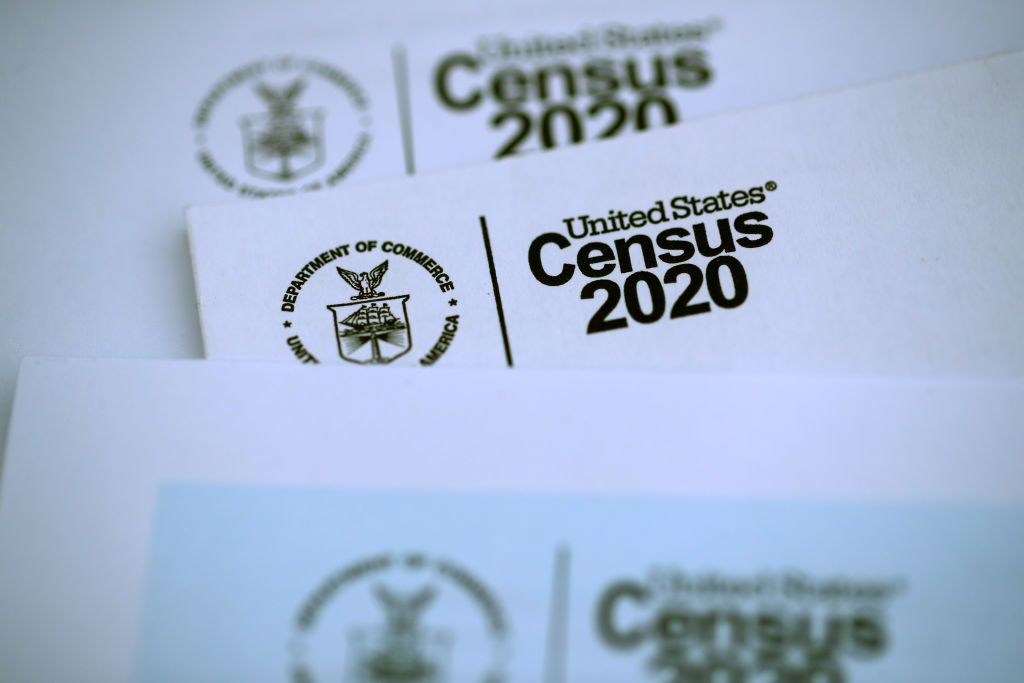 The Census Bureau's apportionment results are being released Monday.