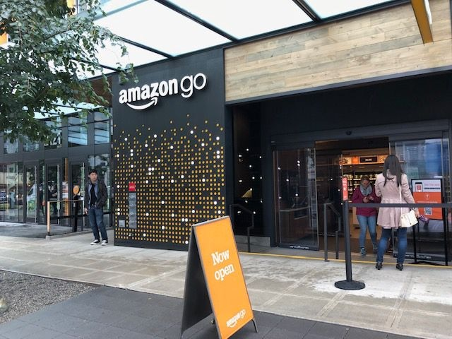 Amazon Go stores don't accept payment the old-fashioned way.