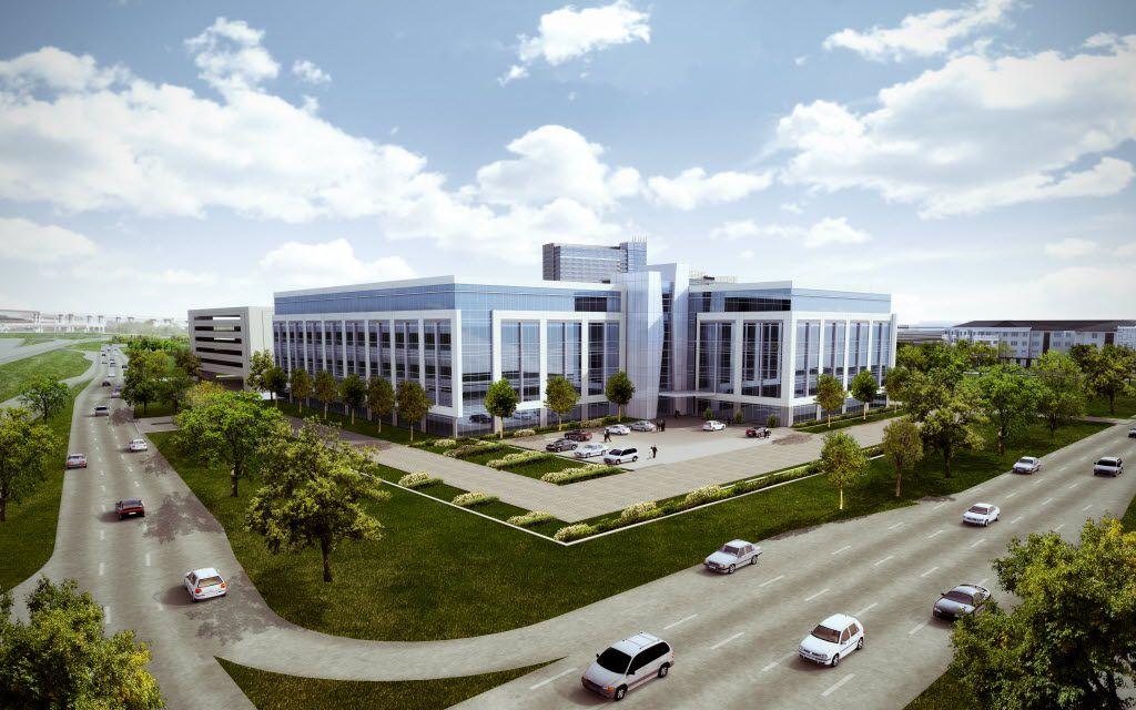 Transwestern Development s Telecom Corridor office campus will open next year.