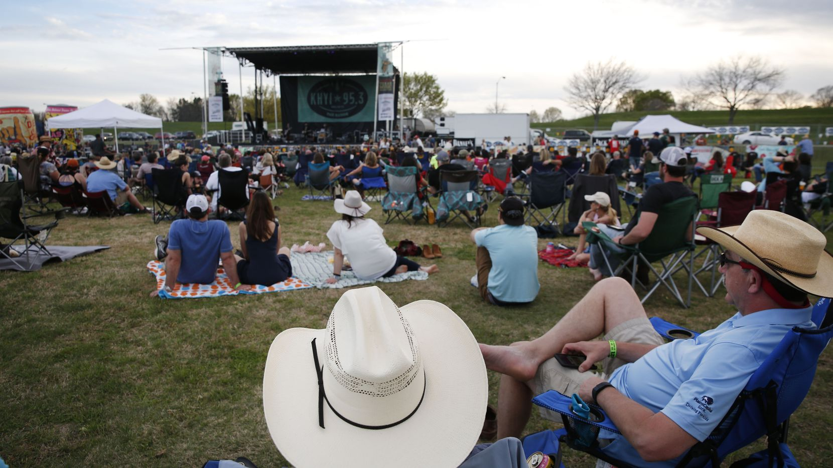 A 2018 file photo shows that year's Texas Music Revolution, held in Plano. The 2021 festival in McKinney over the weekend was one of the first major music fests to take place in North Texas since the pandemic.