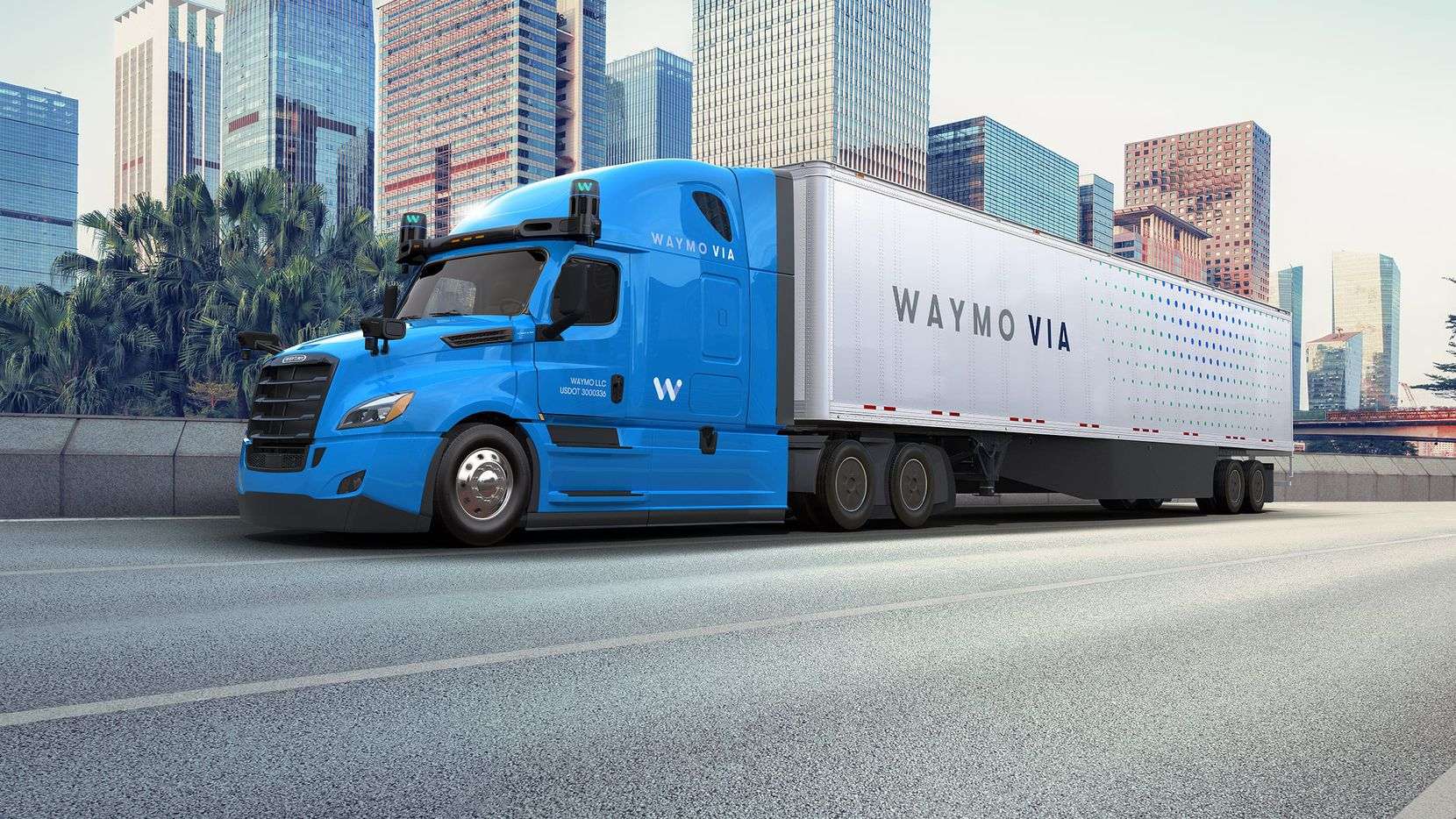 """Mountain View, Calif.-based Waymo has been developing Class 8 truck driving technology since 2017. Class 8 vehicles, which are considered """"severe-duty,"""" include big rigs, cement trucks and dump trucks."""