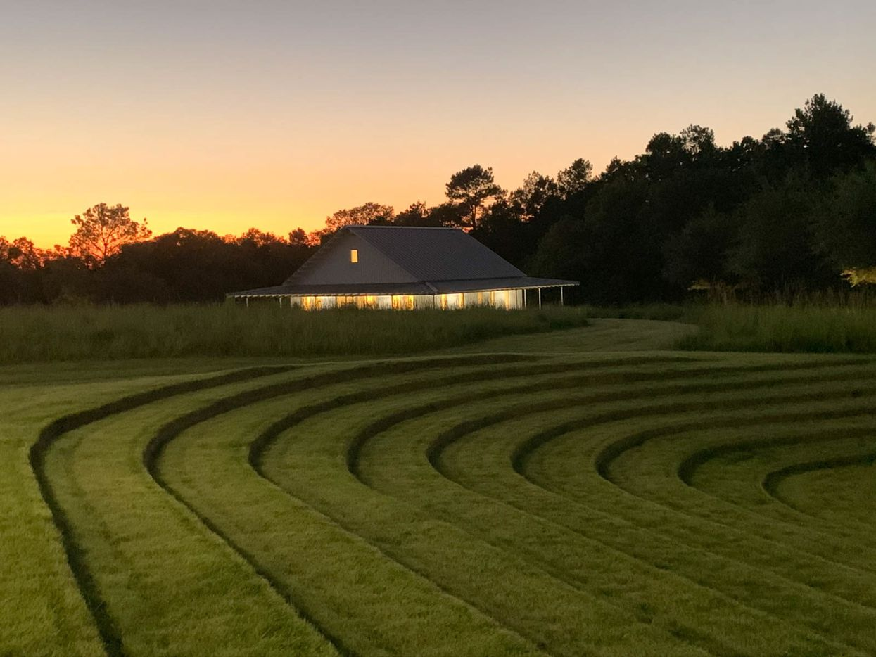 """The Whitehall Ranch camp has """"Zen-like"""" landscaping."""