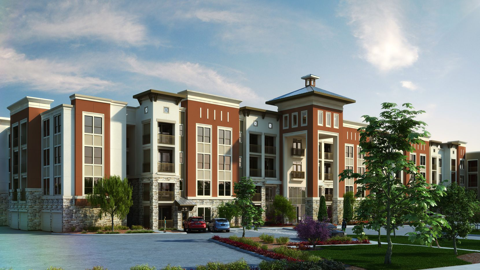 Hall Structured Finance provided $37.7 million for a new apartment community near Orlando.