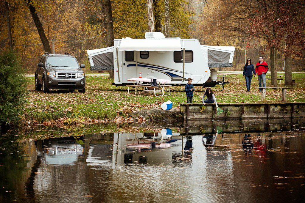 RVs allow people to get away and spend time with family and friends. Many travel trailers are light enough to be towed safely with regular size pickup trucks, SUVs and some minivans.