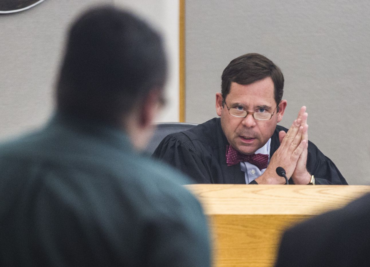 """Judge Robert D. Burns III told Charles Phifer  on Monday: """"Hanging a little girl in a locked closet was savage. You should die in a locked closet."""""""