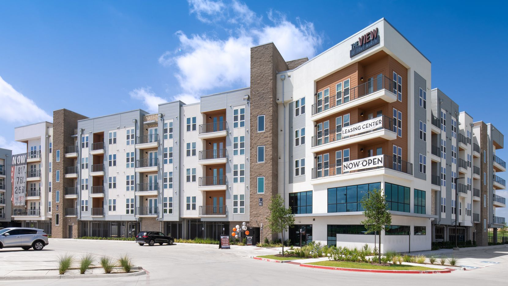 The Shelby at Northside apartments are north of downtown Fort Worth.