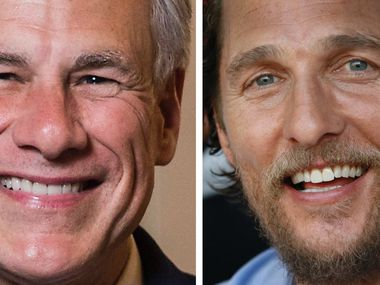 Oscar-winning actor Matthew McConaughey, who says he's considering a run for governor of Texas, holds an edge over incumbent GOP Gov. Greg Abbott, according to a poll released Sunday by The Dallas Morning News and the University of Texas at Tyler. (DMN Staff pictures)