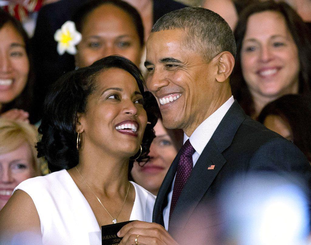El entonces presidente Barack Obama en un evento en la Casa Blanca en Washington el 3 de mayo del 2016. El miércoles 15 de agosto del 2018 la presidencia de Donald Trump admitió que las declaraciones de Trump de que él creó más empleos para la comunidad negra que Obama no fueron ciertas. (AP Photo/Manuel Balce Ceneta, FIle)