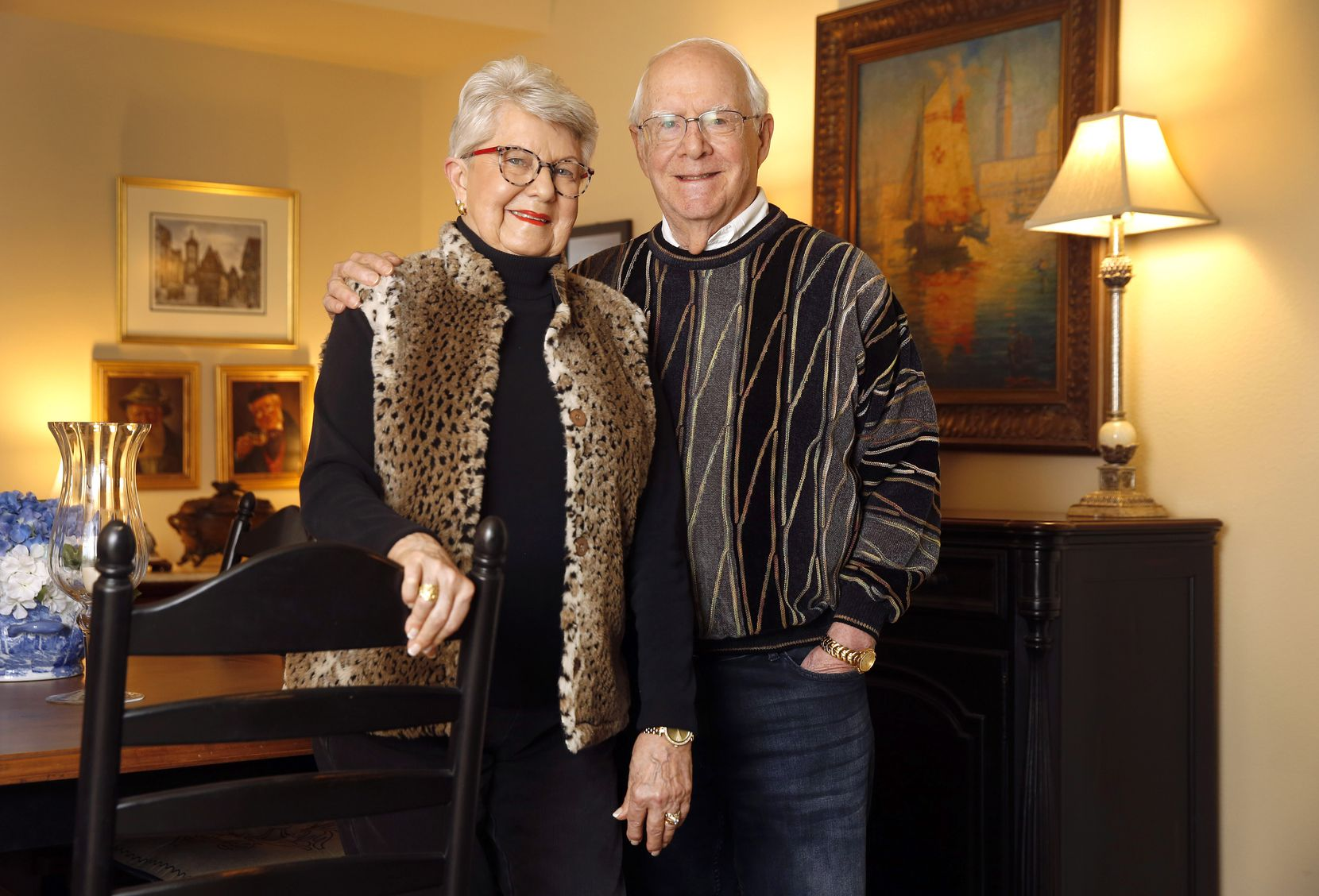 Jack and Nancy Neal live at the Overture, a senior community in Fort Worth.