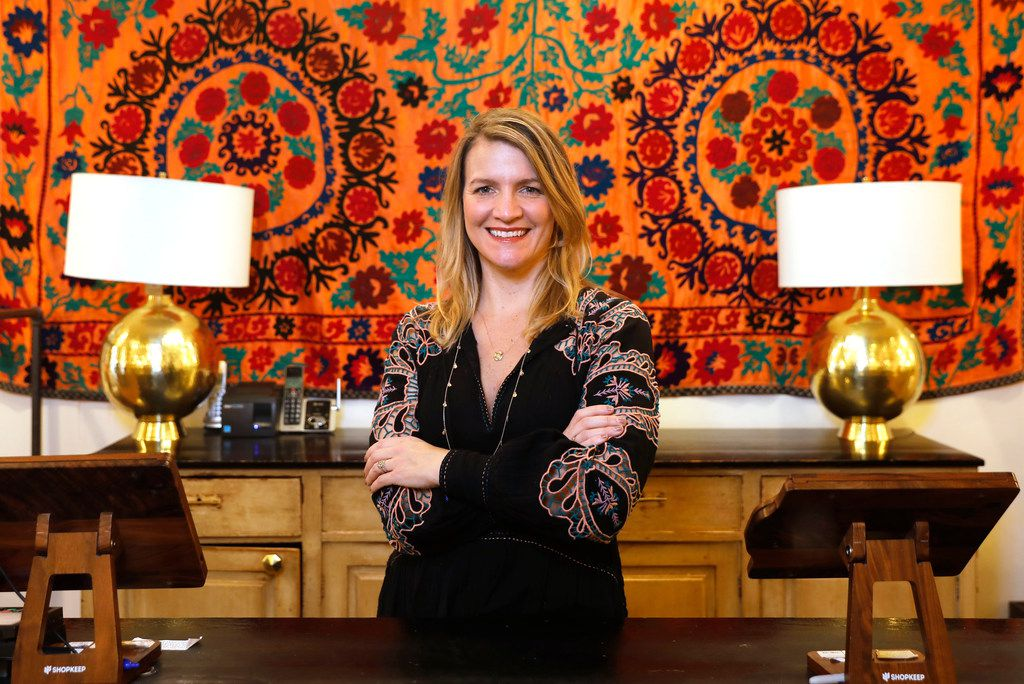 Carley Seale is owner and founder of Gypsy Wagon. The Dallas-based company is changing the name on its four stores in Dallas, Austin, Houston and Crested Butte, Colo. The reasons have to do with new awareness and sensitivity to the Roma community in Texas and elsewhere.