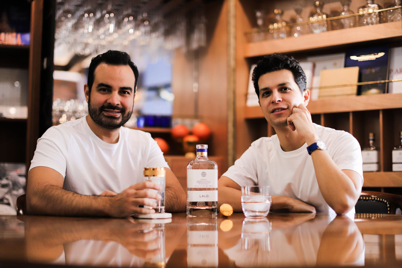"""Eduardo """"Lalo"""" González and David Carballido are childhood friends turned co-founders of LALO Tequila. Both have been in the tequila industry for over a decade."""