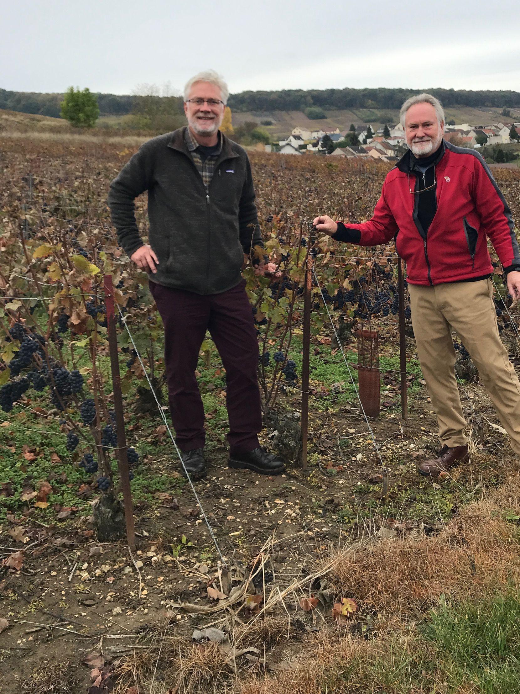 Jon and Kim McPherson with Carter Creek Winery