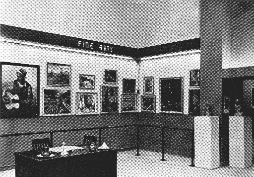 Inside the Hall of Negro Life