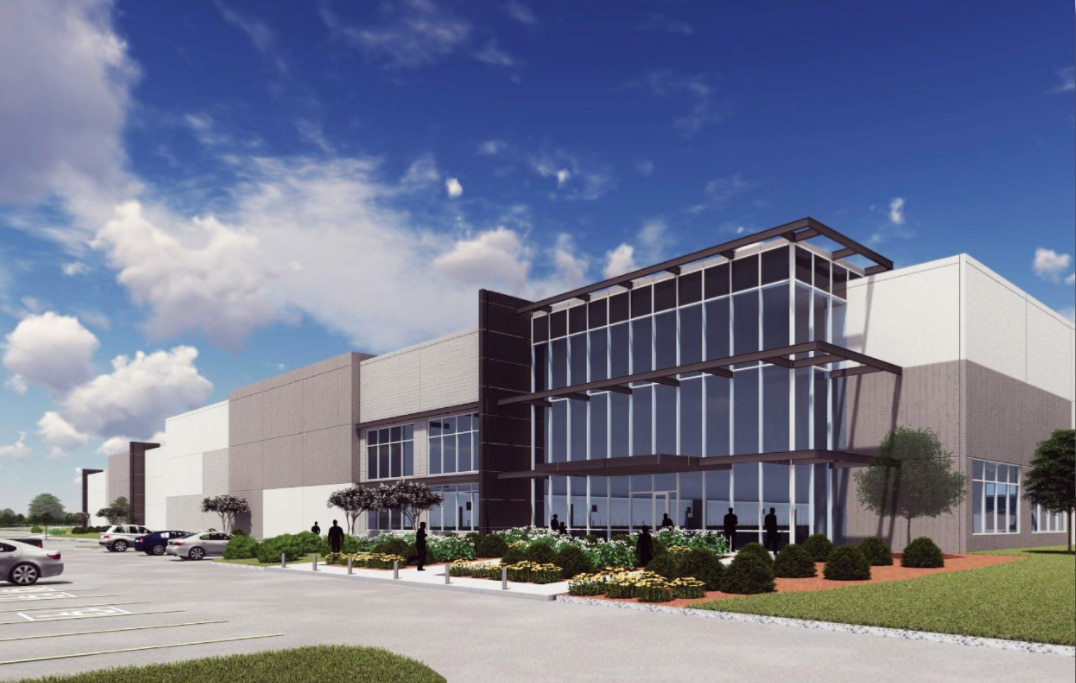 LIberty Property Trust is planning two new buildings in the Mountain Creek development on I-20.