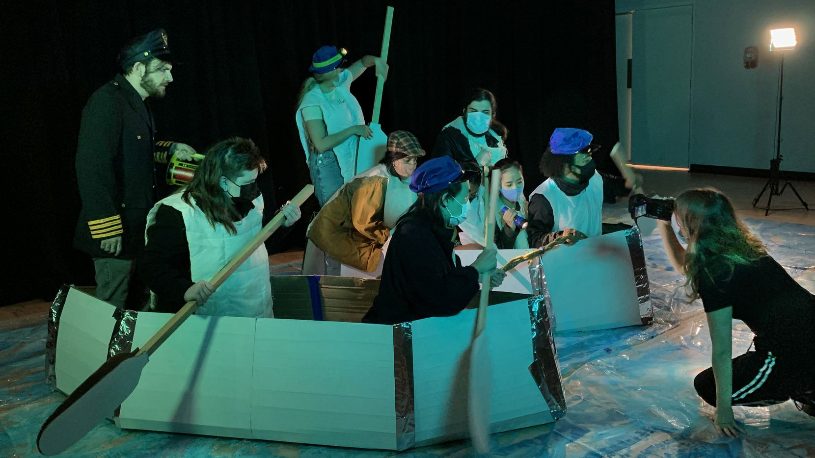 """In the spring, artist Claudia Bitran worked with local artists and students on """"A Deep Emotion,"""" an ambitious frame-by-frame remake of James Cameron's """"Titanic."""""""