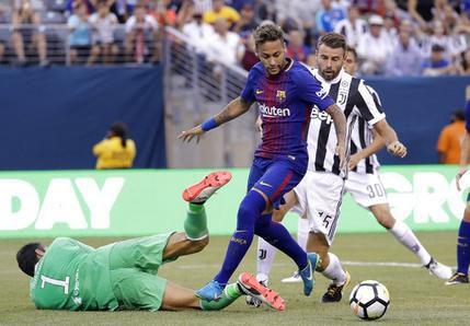 Neymar. (AP Photo/Julio Cortez)
