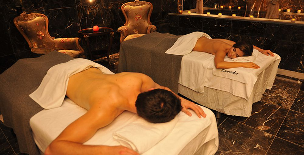 Luxury spa services and private suites at Spa Castle