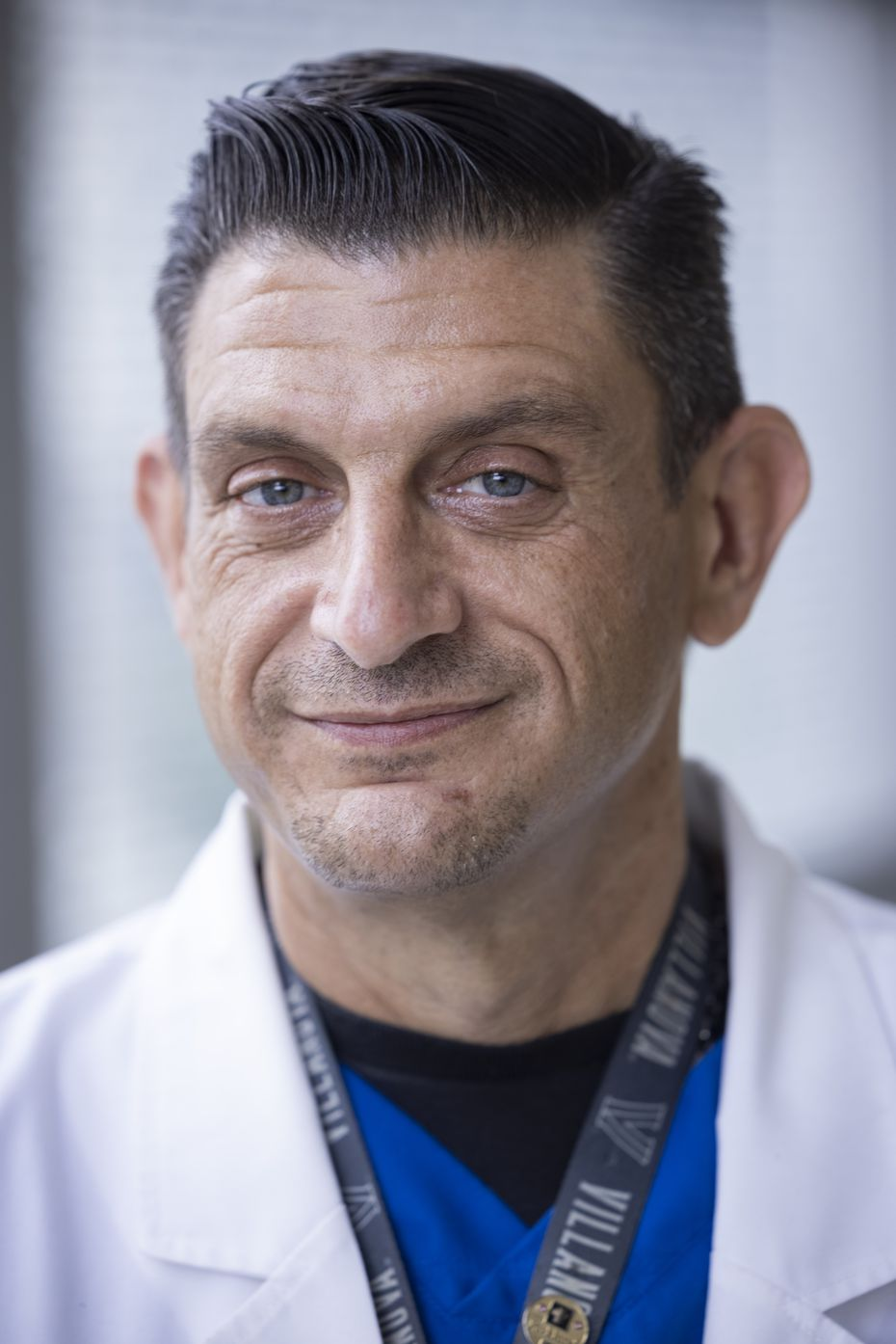 Nurse Corey Manges, Parkland director of nursing for medicine services.