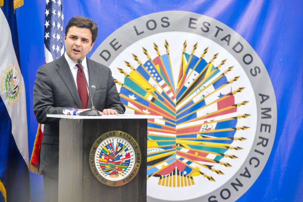 Ricardo Zuñiga, enviado especial de la Casa Blanca para los países del Triángulo Norte, El Salvador, Honduras y Guatemala.