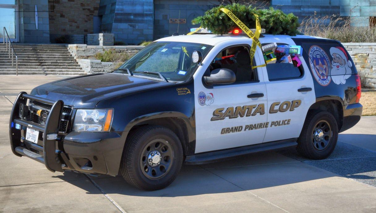 GP Santa Cop has been sleighing it since 1985.