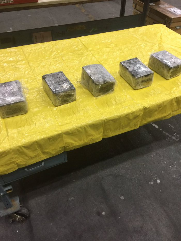 Authorities said the cocaine had a street value of $434,000. (Tulsa County Sheriff's Office)