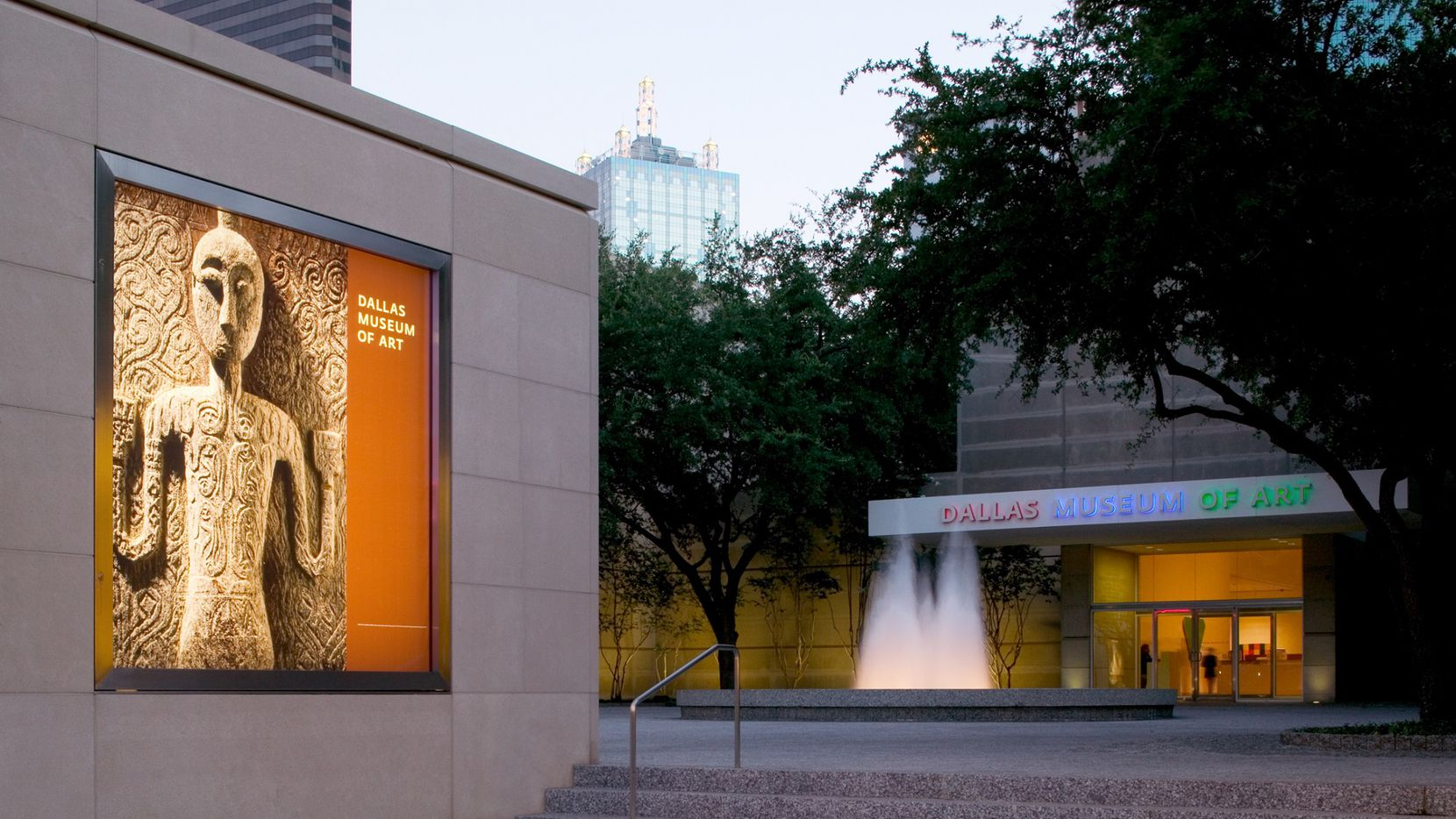 Dallas Museum of Art exterior.
