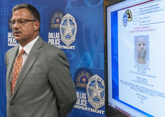 """""""I want to get this guy in custody,"""" said Maj. Jeff Cotner during a hastily called news conference Saturday evening. """"Let's encourage somebody that knows Mr. Dixson to call us and confirm his whereabouts."""""""