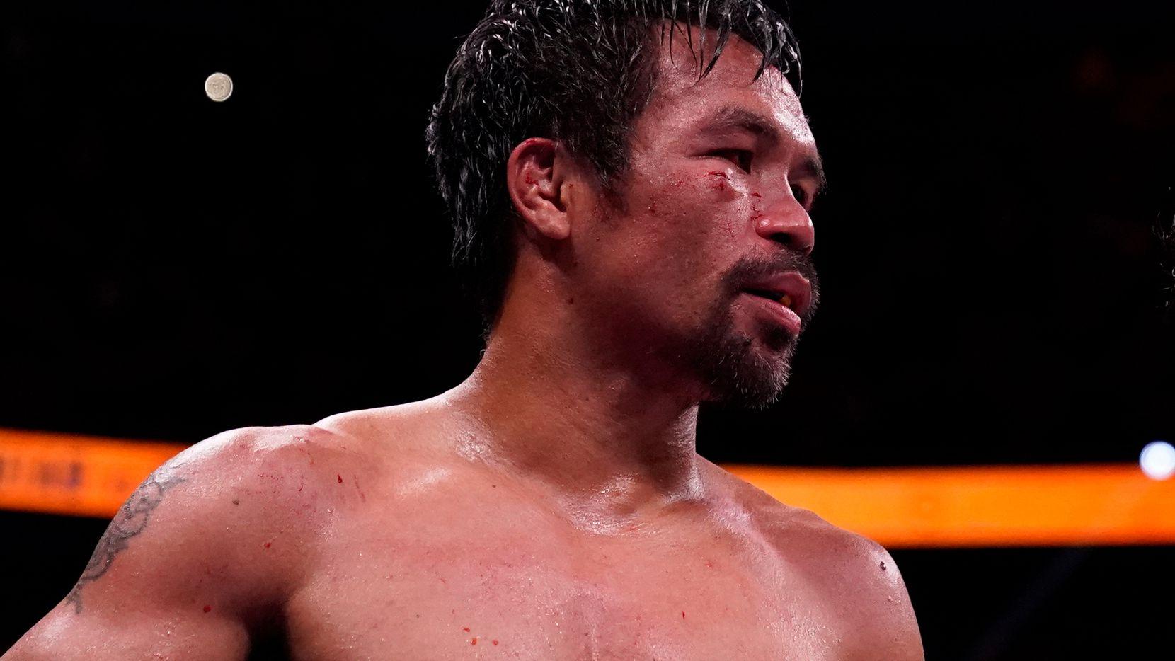 Manny Pacquiao peleó por última vez el 21 de agosto en Las Vegas, perdió ante el cubano Yordenis Ugas.