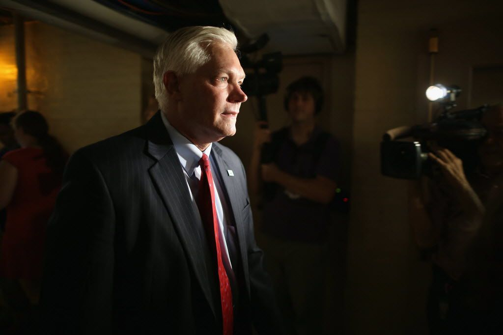 Dallas Rep. Pete Sessions easily won re-election in November but saw his district turn blue as the majority of voters cast ballots for Democrat Hillary Clinton over Republican Donald Trump.